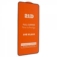 Защитное стекло 21D Full Glue для Honor V30 / V30 Pro черное 0,3 мм в упаковке