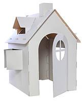 Картонный домик Разукрашка  (Польский картон Картон :T-24)
