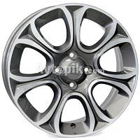 Литые диски WSP Italy Fiat (W163) Evo R16 W6 PCD4x100 ET45 DIA56.6 (anthracite polished)