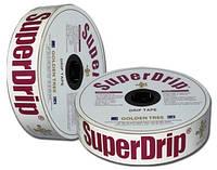 Капельная лента Super Drip - 1000 м в бухте, 8 mil-30-660 л/ч на 100 м