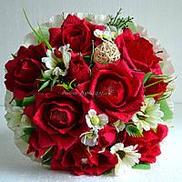 """Букет из конфет  """"Сладкие розы"""""""