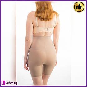 Утягивающие женские шорты (панталоны) бежевые легкая утяжка ТМ AngelSwert