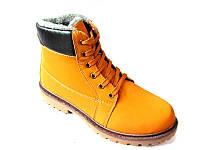 Мужские ботинки под Timberland  (Yellow), фото 1