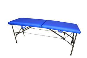 """Складной массажный стол """"Автомат Эко-Кожа"""" 185*60*75см Косметологический """"Эконом"""""""