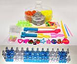 Набір резинок для плетіння браслетів 16000 гумок 6 ярусів з професійним верстатом, фото 3