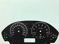 Шкала заменитель миль на километры БМВ Ф30 BMW X3 F25, F30, F31, F32, F33, F36