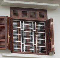 Решетки на окна под ключ