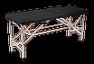 """Складной массажный стол """"Автомат Эко-Кожа"""" 185*60*75см Косметологический """"Эконом"""", фото 6"""