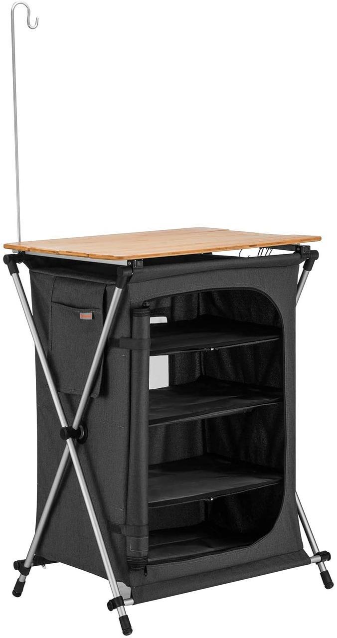 Складная кухня KingCamp Ultra-Light Storage Cabinets(KC3943) DARK GREY