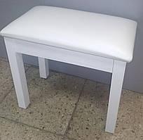 Банкетка для піаніно нерегульована Viva Pianos YY-D white