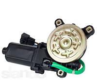 Мотор привода стеклоподъемника левый правый Ланос Lanos Сенс Sens АТ  AT 0208-200WG треугольник