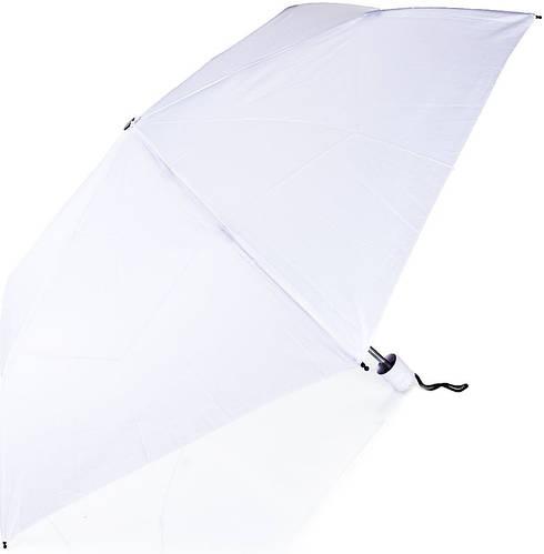 Зонт женский механический компактный облегченный FARE (ФАРЕ), белый, FARE5053-11