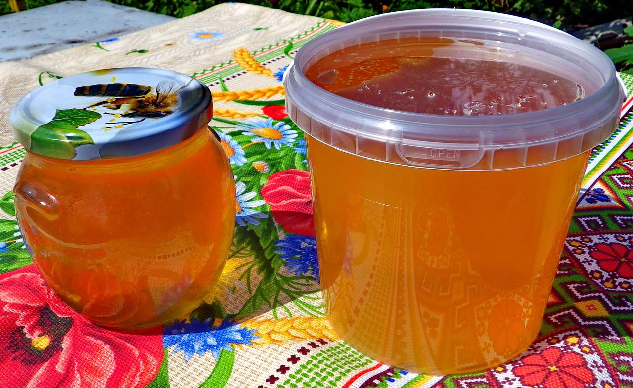 Натуральный акациевый мёд урожая 2020 года; доставим по Боярка
