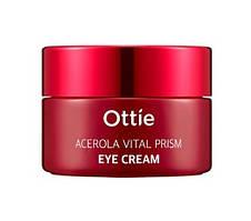 Крем під очі з екстрактом ацероли і вітамінами Ottie Acerola Vital Prism Eye Cream 30 мл