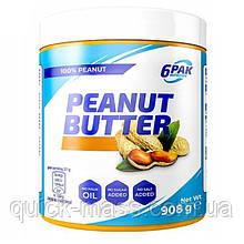Арахисовая паста без сахара 6PAK Nutrition Peanut Butter Pak 908g