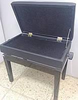 Банкетка для піаніно регульована Viva Pianos Black