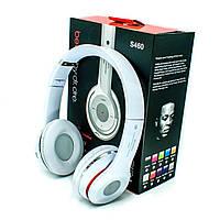 Bluetooth наушники S460 белые