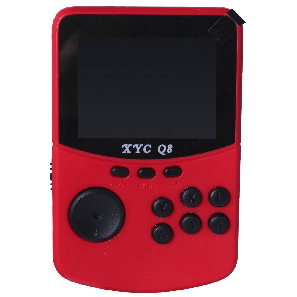 Портативная игровая ретро консоль « Q80 » (Red)