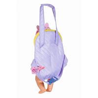 Рюкзак-кенгуру для куклы BABY BORN - КОМФОРТНАЯ ПРОГУЛКА (с аксессуарами) 828038