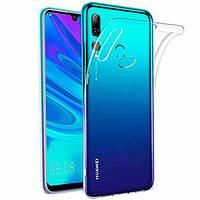 Чехол силиконовый для Huawei Honor 10i ультратонкий прозрачный (хуавей хонор 10и)