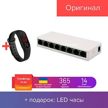 Коммутаторы локальной сети (Switch) на 8 портов Pix-Link LV-SW08