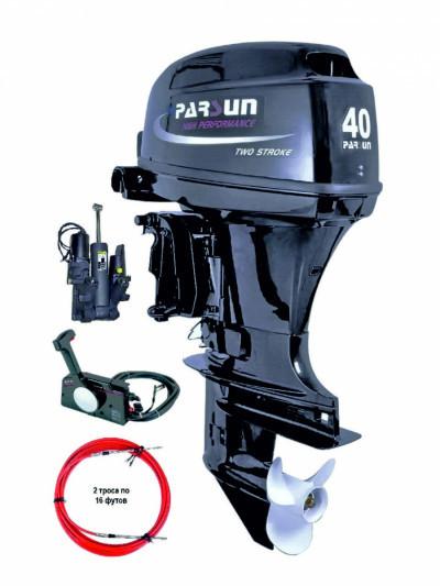 T40FWL-Т (40 л.с. короткий дейдвуд, стартер, д/у, эндуро, трим)