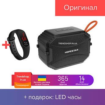 Компактная Беспроводная Bluetooth колонка c Влагозащитой Hopestar T8 3 Вт IPX6 Черная