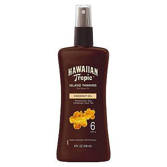 Cолнцезащитное масло-спрей для загара Hawaiian Tropic Island Tanning Oil Spray SPF 6