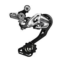 Задний переключатель скоростей Shimano Deore RD-M610 SGS Shadow (10 скоростей), серебристый
