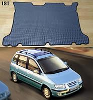 Коврик багажника Hyundai Matrix '01-08. Автоковрики EVA, фото 1