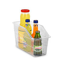Органайзер для холодильника на 1 отделение узкий белый, фото 3