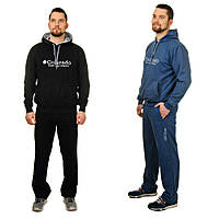 Мужской спортивный костюм с капюшоном «Брайан» (Синий, черный | 48, 50, 52, 54, 56)