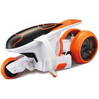 Радиоуправляемая игрушка Maisto Мотоцикл Cyklone 360 оранжево-белый (82066 orange/white)