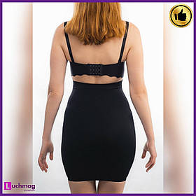 Утягивающая женская черная юбка (легкая утяжка) ТМ AngelSwert
