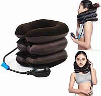 Ортопедический воротник Ting Pa лечебный воротник подушка для шеи, фиксатор для шеи Надувная подушка для шеи, фото 1