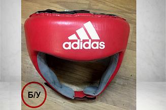 Шлем боксерский Adidas с лицензией Aiba (красный)