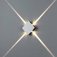 Светодиодный бра 4Вт, LWA161, квадрат
