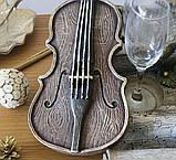 Штоф-бар Скрипка Романтика ШП412цв, фото 2