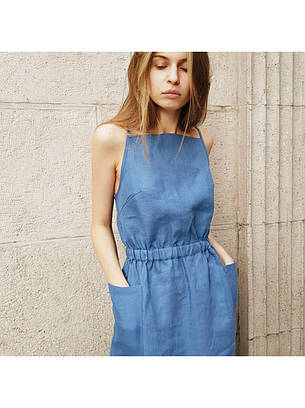 Платье сарафан джинс, фото 2