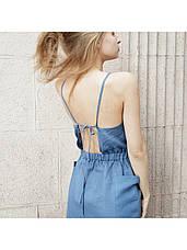 Платье сарафан джинс, фото 3