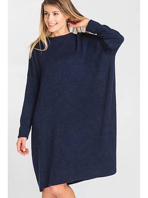 Женское ангоровое платье оверсайз, фото 2