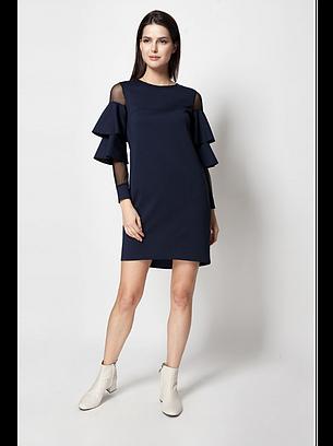 Сукня з сіточкою і рюшами, фото 2