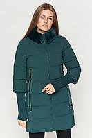 Стильная зимняя куртка зеленого цвета Kiro Tokao