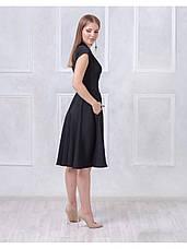 Платье с пышной юбкой черное купить оптом и в розницу, фото 2