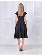 Платье с пышной юбкой черное купить оптом и в розницу, фото 3
