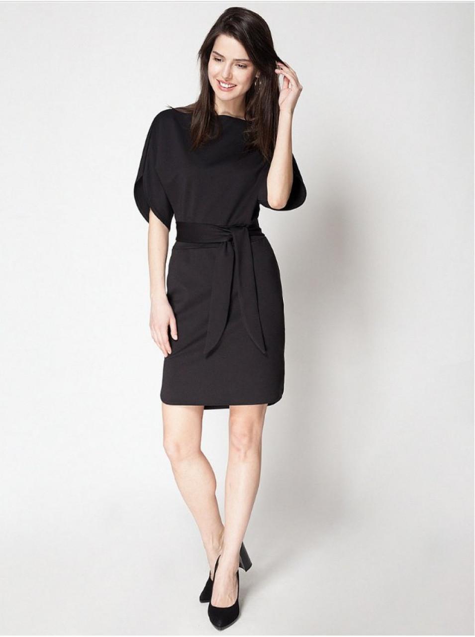 Сукня трикотажне чорне