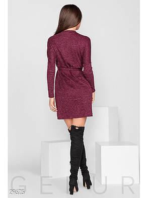 Сукня-міні з поясом., фото 2