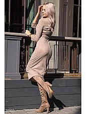 Удлиненное трикотажное платье, фото 3