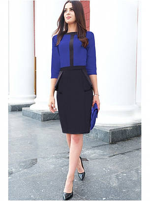 Офисное платье, фото 2