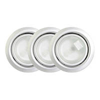 Точечный светильник // Lumine / галогеновый / круглый / матовый / P= 20W / белый холодный